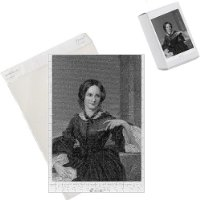 Photo Jigsaw Puzzle of Charlotte Bronte/author from Mary Evans