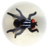 6 x 45mm fly large bouncy balls - ideal for party bags