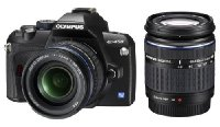 Olympus E-450 Digital SLR Camera (14-42mm & 40-150mm Lens Kit)