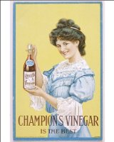 Photographic Print of ADVERT/CHAMPION VINEGAR from Mary Evans