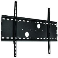"52"" INCH SOLID STEEL PROFESSIONAL BLACK FIXED FLAT for your Samsung LE52A656A Screen TV LCD PLASMA Wall Mount Bracket"