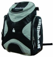 Ironman Athlete Back Pack Black/ Silver