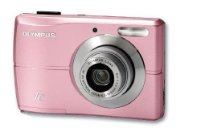 Olympus FE-26 Digital Compact Camera - Flamingo Pink (12MP, 3x Digital Zoom) 2.7 inch LCD