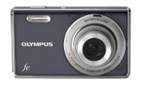 Olympus FE-4000 Digital Compact Camera - Dark Grey (12MP, 4x Digital Zoom) 2.7 inch LCD