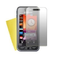 Brand New Shop4accessories LCD Screen Protector (with MicroFibre Cleaning Cloth) for the Samsung S5230 Tocco Lite.