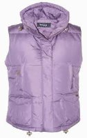 Toggi Dyville Semi Fitted Ladies Feather and Down Mix Filled Gilet / Bodywarmer Size 10 - Colour Heather