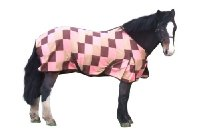Divine Equine Neopolitan Fleece Rug - Size 6' 9 : Stable : Travel : Cooling : Shows
