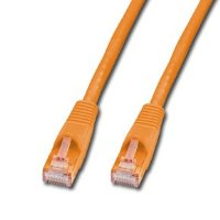LINDY 20m CAT6 UTP Snagless Network Cable Orange