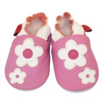 Soft Leather Baby Shoes Flower 6-12 Months