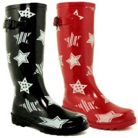New Star Festival Wellies Wellington Boots Sz 3-8