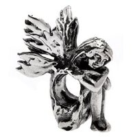 Silverado 'Fairy' Silver Charm - Fits On Pandora Chamilia And Troll Bracelets