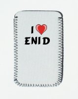 iPhone Case with I Love Enid - Custom iPhone Holder