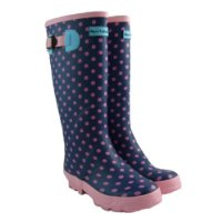 Ladies Wellington Boots Printed Wellies Womens Size 4-8