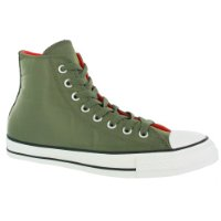 Converse All Star Nylon Hi Top Trainer - Army Green