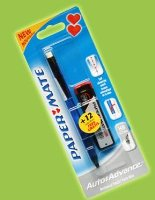 2 x Papermate AutoAdvance 0.7mm Mechanical Pencils with FREE lead refill pack & FREE POSTAGE