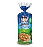 Quaker Rice Cake Apple Cinnammon 175 g (3-Pack)