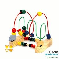PCR Toys Wooden Bead Rack with Abacus Educational Toy