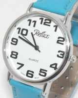 Reflex Jumbo Face Turquoise Strap Ladies Watch