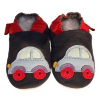 Soft Leather Baby Shoes Car 18-24 months