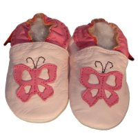 Soft Leather Baby Shoes Butterfly 6-12 months