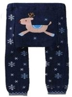 "Baby / Toddler Leggings , Trousers - ""Reindeer"" 6-12 months"