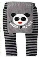 "Baby / Toddler Leggings , Trousers - ""Smile Panda"" 6-12 months"
