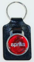 VE LEATHER APRILIA KEY FOB