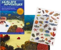 Sea Life Adventure - Rub Down Transfers Ocean Scene