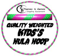 Kids Hula Hoop - Quality Weighted Children's Hula Hoops!PG