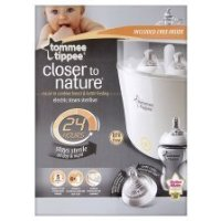Tommee Tippee Closer To Nature Electronic Steam Steriliser (Get Two Bottle Free Choice of Blue or Pink Bottle)