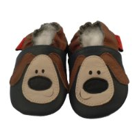Soft Leather Baby Shoes Dog 24-36 months
