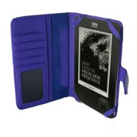 Navitech Blue Bycast Leather Flip Open 7 Inch Book Style Carry Case / Cover for the Kobo wireless e-reader device (As sold by WHSmith)