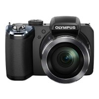 Olympus SP-820UZ Compact Digital Camera - Black (14MP, 40x Wide Optical Zoom) 3 inch LCD Screen