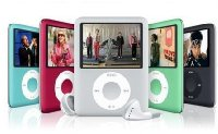 16GB MP3/MP4 Player 3rd Generation iPod Style With FM Radio & Colour LCD Screen (Black)