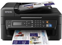 Epson WorkForce WF-2630 Four-in-One for the Small Printer with Wifi and AirPrint (Print/Scan/Copy/Fax)