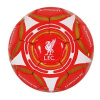 Liverpool FC Official Star Crest Size 5 Football